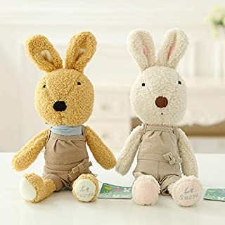 MANGMOC 1Pc I Dressing Rabbit Plush Dolls Soft Rabbits Stuffed Animals Kids Toy Big Hare Appease Toys for Girls Children Gift Must Haves 5 Year Old Boy Gifts Boys Favourite Characters
