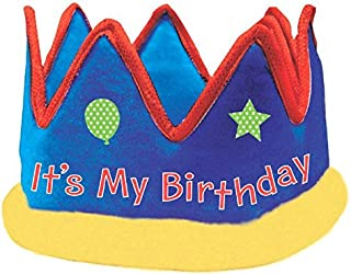 Birthday Fabric Crown