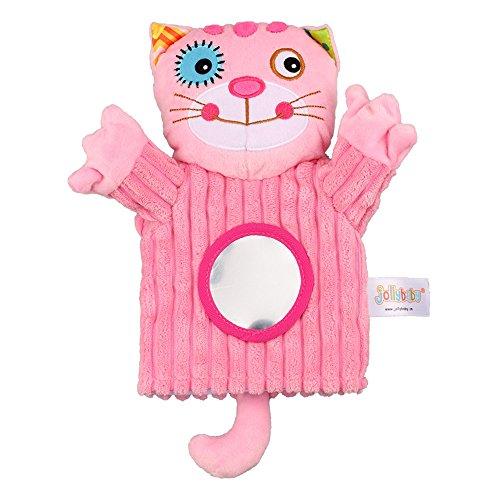 Festnight Animales bebé Marioneta Mano Felpa Cascabeles