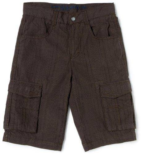 Lemmi Fashion Jungen Hose/ Short & Bermuda 3880190576 Long Bermuda, Gr. 152, Braun(395 dark brown)