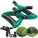 Lawn Sprinkler Irrigatore per Giardino Garden Prato irrigatore Automatico Acqua irrigatore a 360 Gradi Sistema di irrigazione con Ampia Area con Design a Prova di perdite