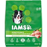 IAMS PROACTIVE HEALTH Adult Minichunks Small Kibble High Protein Dry Dog Food with Real Chicken, 30 lb. Bag