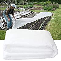 LeXiangLANGood 凍結防止保護植物カバー、1。69 再利用可能な長方形抗凍結植物毛布、コールド天気保護と植物の成長のために使用