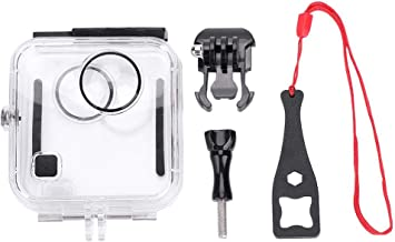 Zerone Waterproof Housing Case for GoPro Fusion, 45M Underwater Protective Diving Case for GoPro Fusion with Bracket Accessories Housing Shell Replacement Cover for GoPro Camera