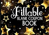 Fillable Blank Coupon Book: Colored Love Vouchers For Couples   Blank Coupon Templates To Fill In Yourself