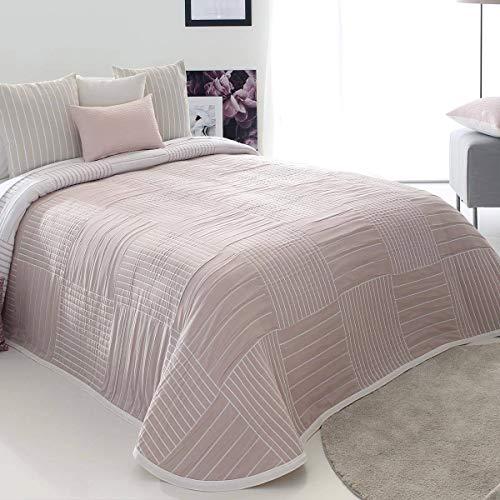 Reig Marti - Colcha Capa Dawn - Cama 105 Cm - Color Rosa C02