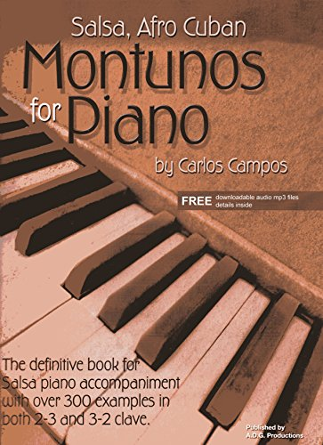 Salsa & Afro Cuban Montunos for Piano Book/downloadable audio files