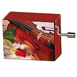 Fridolin 58091 Spieluhr Happy Birthday / Rose mit Geige