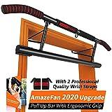 AmazeFan Sbarra per trazioni Potenziamento Muscolare Sbarra Pull Up Bar Barra Fitness per la casa...