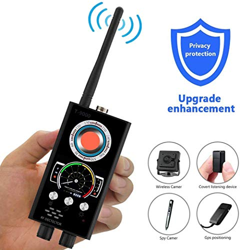 Best Bargain JJWW Metal RF Anti Spy Detector, Hidden Camera Detector, GSM Laser Lens, Listening Devi...