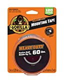 Gorilla Heavy Duty Double Sided Mounting Tape XL, 1' x 120', Black (Pack of 1)