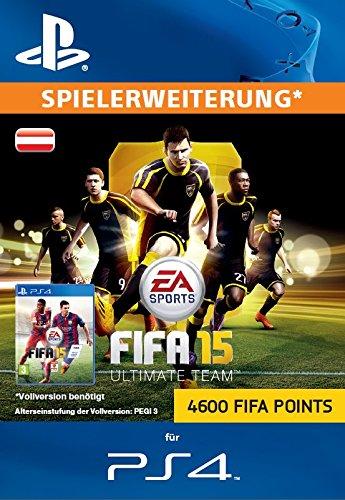 4600 FIFA 15 Ultimate Team  Points [Zusatzinhalt][PSN Code für österreichisches Konto]