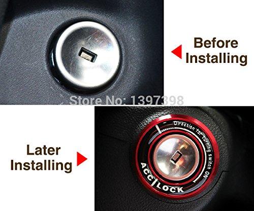 Interrupteur d'allumage automatique Vyage (TM) de voiture ; motif accessoires auto, autocollant 3D pour chevrolet, Cruze, Aveo, Trax, Malibu/Opel, Mokka, Astra, J Insignia