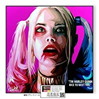Harley Quinn2 / ハーレイ・クイン/ポップアートパネル/Keetatat Sitthiket キータタット シティケット
