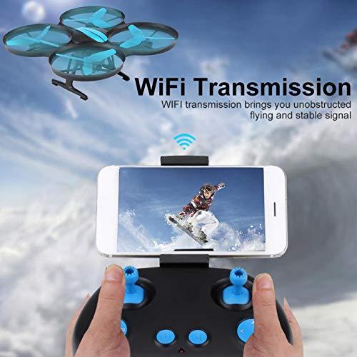 Pwshymi RC Quadcopter Flight RC Drone Gift Regalo para Principiantes y niños(WiFi 720P Wide-Angle Camera)