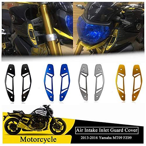 FATExpress Moto Aluminium Air Inake Film Protection Protection Protection Protection Grille de Protection pour Yamaha MT FZ 09 MT-09 FZ-09 MT09 FZ09 2014 2015 13-16