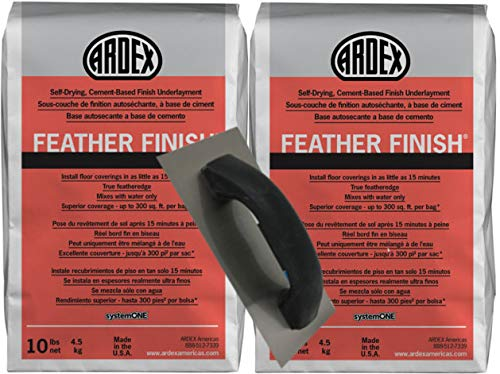 2 Bags of Ardex Feather Finish & Floor Patching Trowel