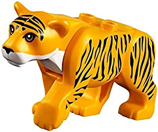 LEGO Tiger Minifigure Big Cat from Jungle Theme (New for 2017)
