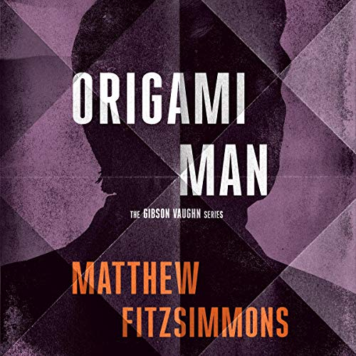 Origami Man audiobook cover art