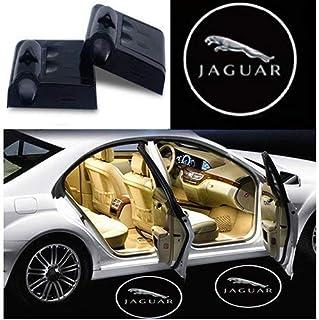 2Pcs for Car Door Lights Logo for Jaguar, Car Door Led Projector Lights Shadow Ghost Light,Wireless Car Door Welcome Court...