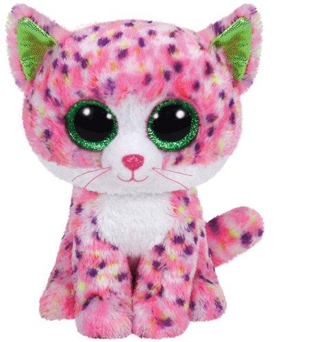 Carletto Ty 37054 37054-Sophie-Katze Glitzeraugen, Pink