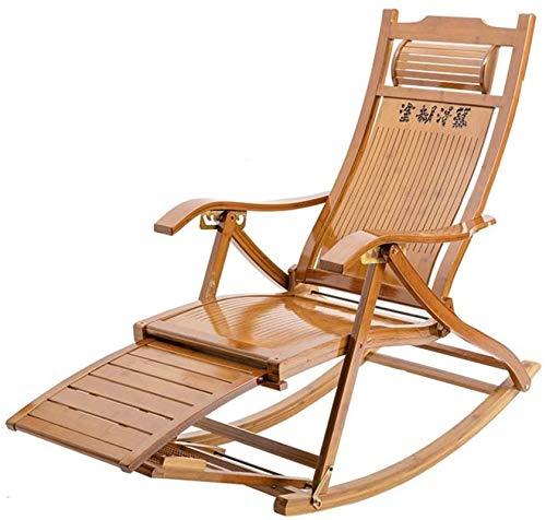 Office Life Zero Gravity Silla de salón plegable, diseño de pedal retráctil, silla mecedora para el almuerzo, perezosa, fácil silla, patio, tumbona reclinable, tumbona