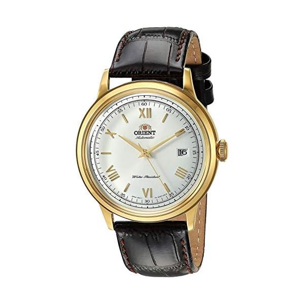 Orient – Reloj de Pulsera para Hombre, Marrón (FAC00007W0)