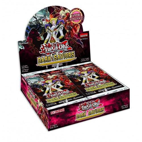 Yu Gi Oh! TCG Dark Saviors Booster Box (24 Packs)