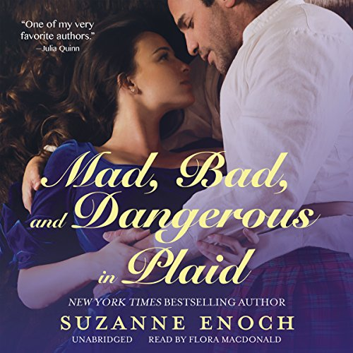 Mad, Bad, and Dangerous in Plaid audiobook cover art