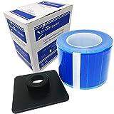 Starryshine - B01E7ZFWVK PCBF01 Barrier Film Blue 4X6 1200 Perforated Sheets 600ft w/Dispenser Box Dental Tattoo