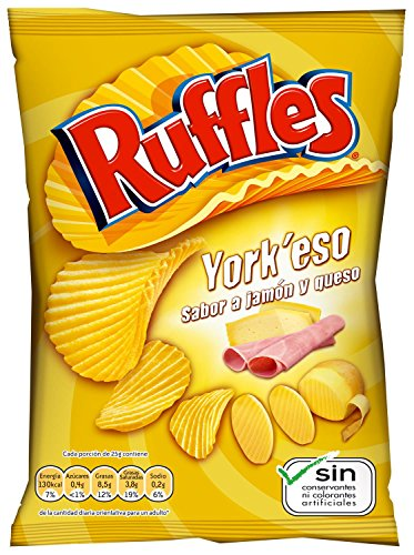 Ruffles Yorkeso, patatas fritas - 160gr
