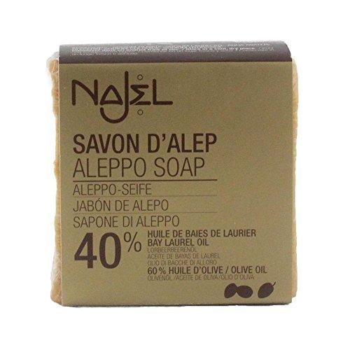 Najel Traditional Aleppo Soap laurel 40% - 200g