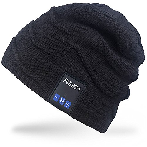 Rotibox Bluetooth Beanie Music Soft Warm Hat Cap with Wireless...
