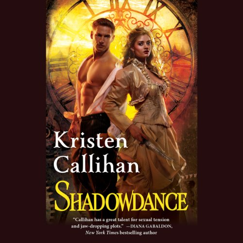 Shadowdance audiobook cover art