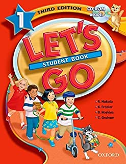 Let's Go 1 Student Book with CD-ROM (Let's Go Third Edition) by Ritsuko Nakata Karen Frazier Barbara Hoskins Carolyn Graha...