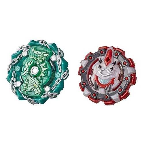 Beyblade Burst Rise Hypersphere Dual Pack Shield Kerbeus K5 and Behemoth Cyclops C5 -- 2 Right-Spin Battling Top Toys, Ages 8 and Up