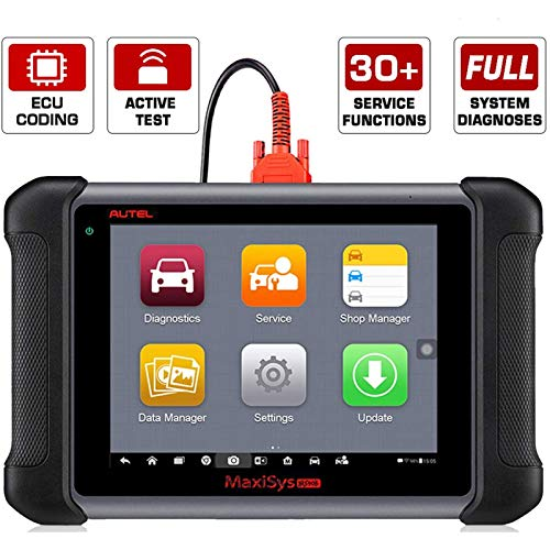 Autel MaxiSys MS906 Automotive Diagnostic Scanner with Bi-Directional Control, Key Fob Programming, ECU Coding, ABS Bleeding Brake (Advanced Version of MaxiDAS DS708 DS808)