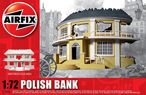 Airfix A75015 Polish Bank 1:72 Diorama Resin Undecorated Model