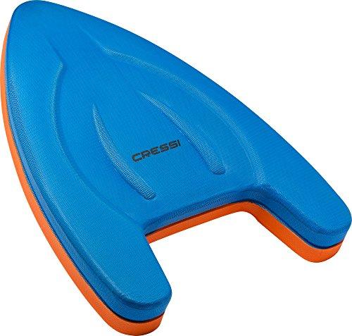Cressi Free Flow Kickboard II Tabla de natación, Amarillo, 40 x 28 x 4 cm