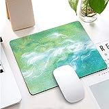 FlyInk Mini Tappetino per Mouse, Dimensione 260x210x3mm, Resistente all'Acqua, Base in Gomma Antiscivolo, per Mouse PC/Mac/Laptop. (Estate Verde)