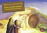 Kamishibai Bildkartenset Jesus ist auferstanden. Eine Geschichte von Ostern. - Bildkarten für unser Erzähltheater: Entdecken - Erzählen - Begreifen: ... (Bibelgeschichten für unser Erzähltheater) - Petra Lefin (Illustriert)