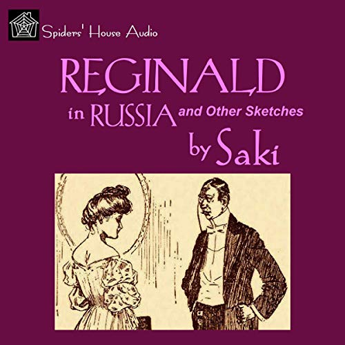『Reginald in Russia and Other Sketches』のカバーアート