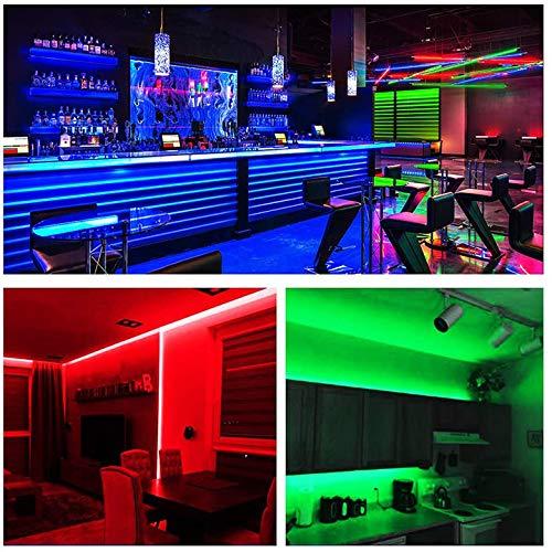Daybetter Led Lights Color Changing Led Strip Lights with Remote Controller-60ft 7