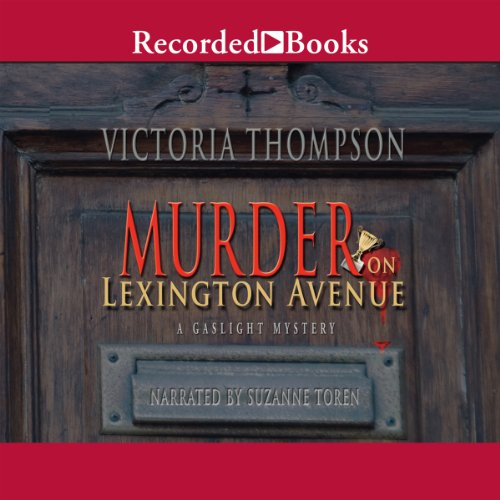 Murder on Lexington Avenue audiobook cover art