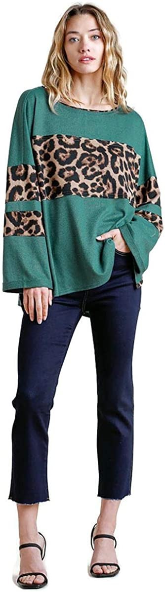 Ranking TOP12 Umgee Women's Gifts Leopard High Low Top