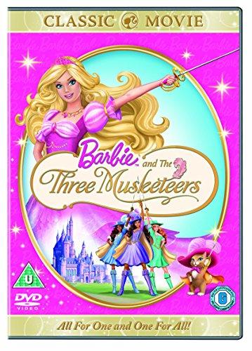 Barbie And The Three Musketeers [Edizione: Regno Unito] [Reino Unido] [DVD]
