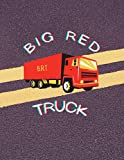 Big Red Truck: Notebook (Big Rooster Notebooks)