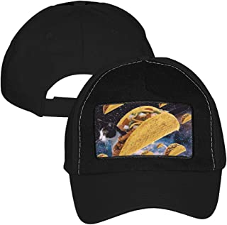dc6614dd59a54 Unisex Adjustable Baseball Cap Taco Cat Delious Food Trucker Hat Sports  Mesh Hat
