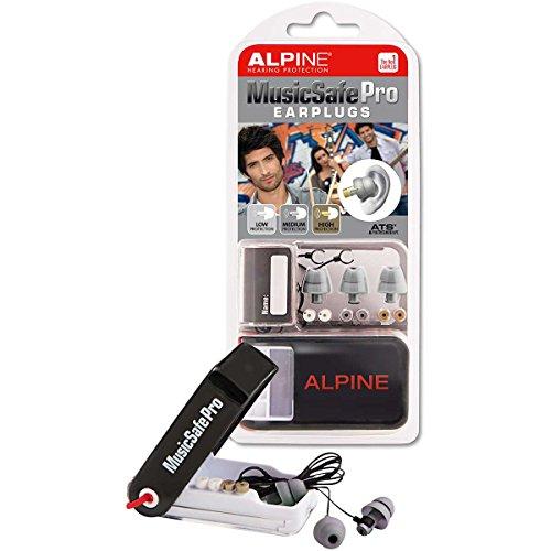 Alpine MusicSafe Pro - Auricolari per la Protezione dell'Udito dei Musicisti - Argento