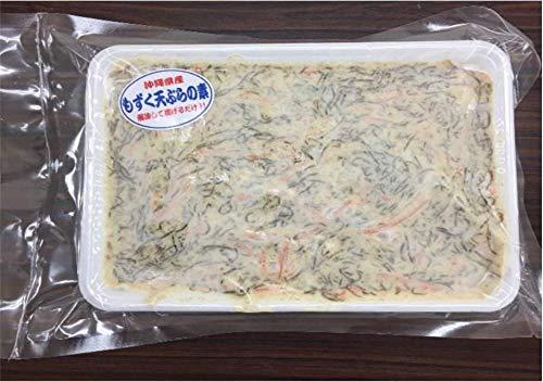 もずく天ぷらのもと 野菜入り 500g×2P 丸昇物産 沖縄料理が手軽に
